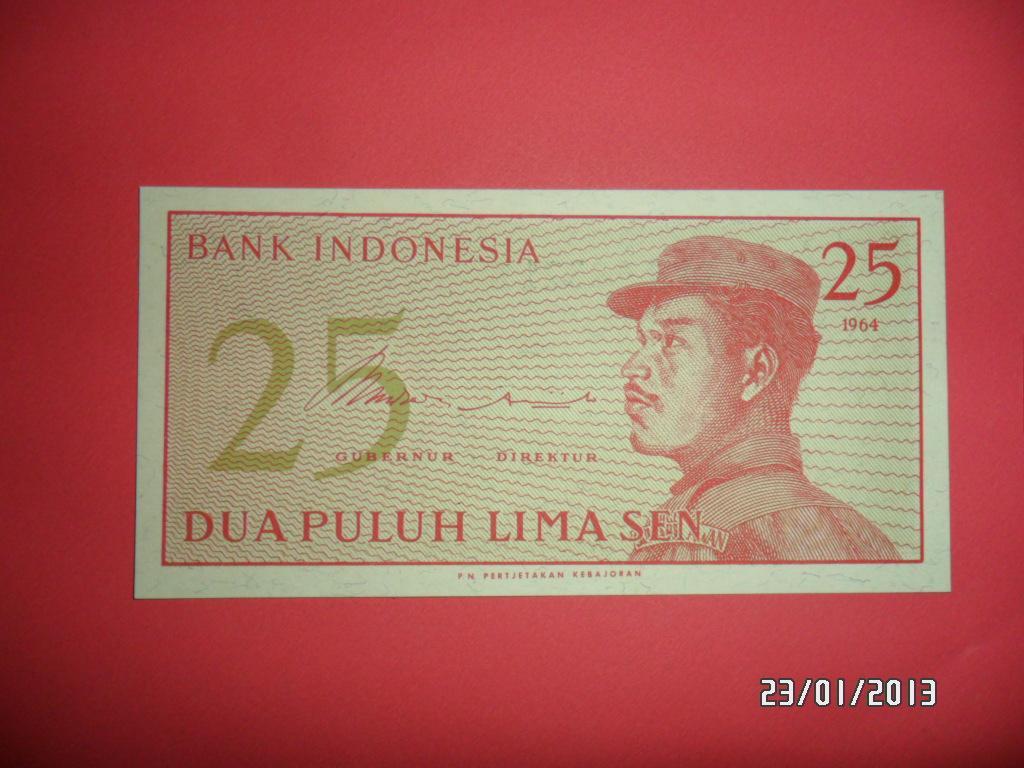 Indonezja - 25 sen