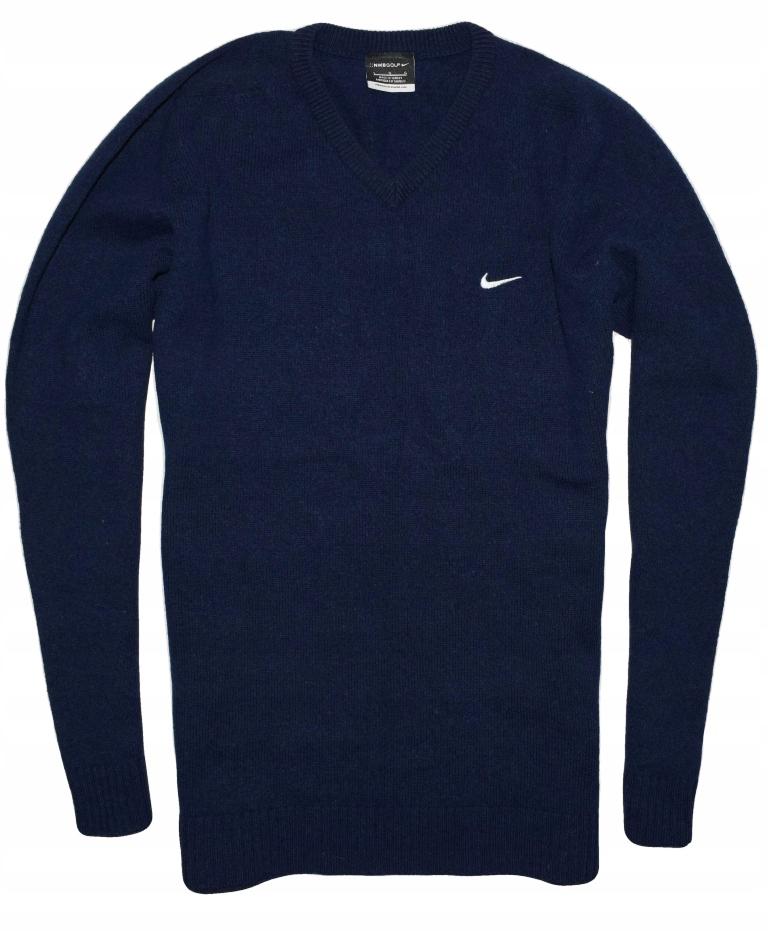 Nike GOLF L ciepły wełniany sweter