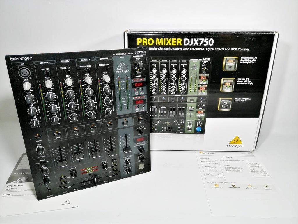 MIKSER DJ DJX 750 Gwarancja