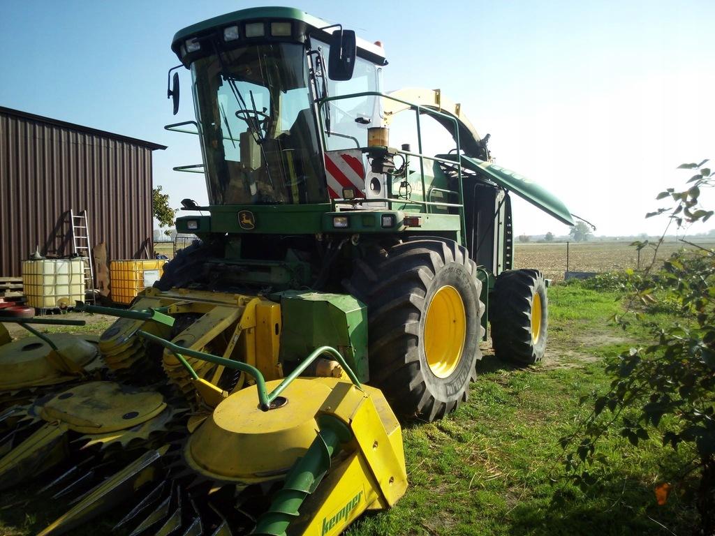 Sieczkarnia kukurydzy john deere 7500