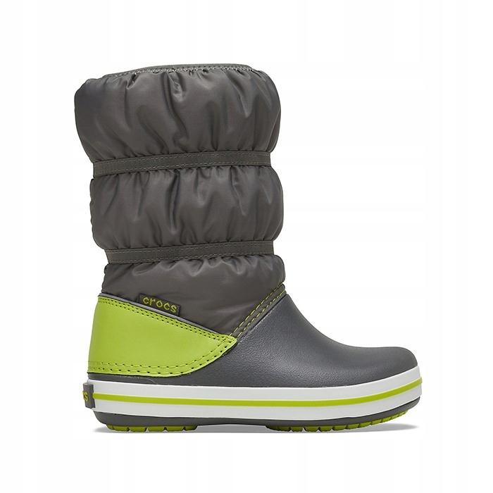 Crocs Winter 206550 SLATE GREY/LIME PUNCH 24-25