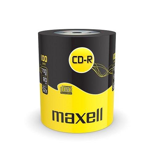 Płyty Maxell CD-R 80Min 52x 700MB 100szt