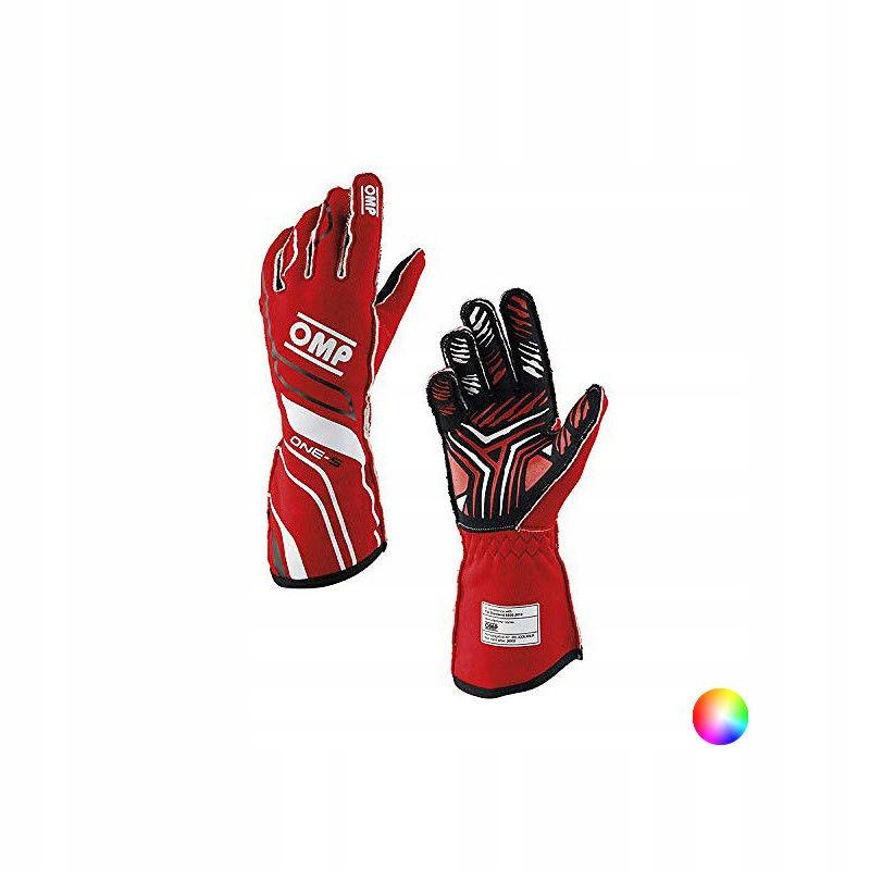 Męskie rękawice do jazdy OMP One-S Czerwony (Rozmi