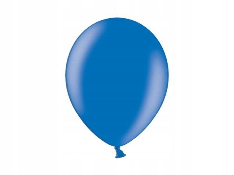 Balony 10'', Metallic Royal Blue (1op=100 szt)