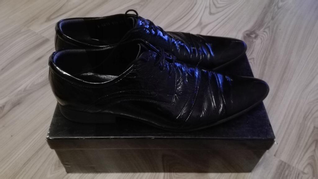 Buty Pantofle Wloskie Via Roma Lorenzo R 44 7833285194 Oficjalne Archiwum Allegro