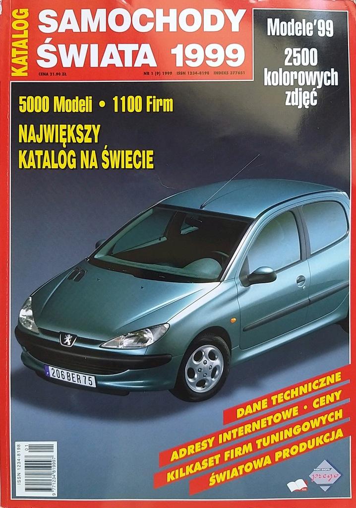 Samochody świata 1999 Katalog