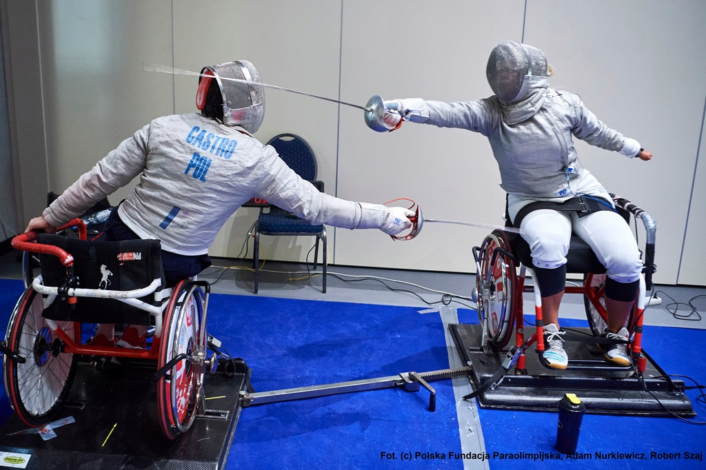 Trening szermierki z paraolimpijczykami dla 2 osób