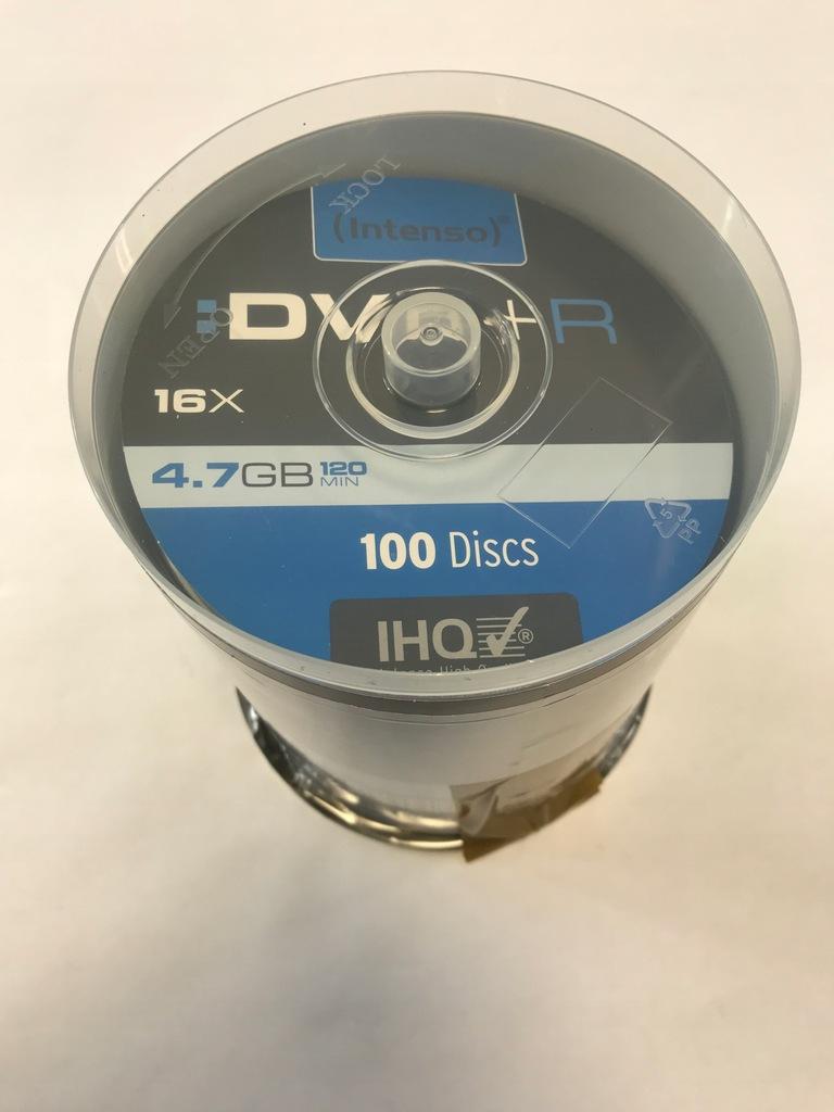 Płyty DVD-R Intenso 90szt.