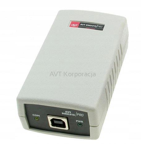 AVT separacją galwaniczną Freestyler DMX512 USB