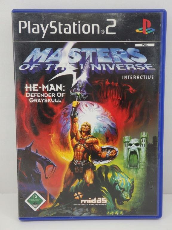 MASTERS OF THE NIVERSE GRA NA PS2