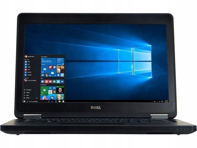 Dell Latitude E5250 i5 8GB 240SSD 1366x768 Klasa A