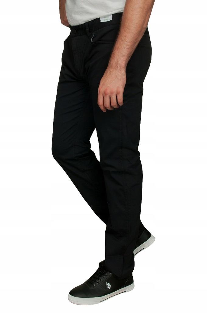 HUGO BOSS Spodnie Męskie Jeansy Slim 38 34 OKAZJA
