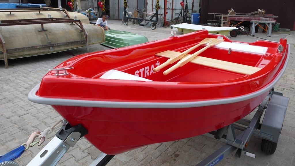 Łódź, łódka wędkarska Barti 335, solidna, jakość