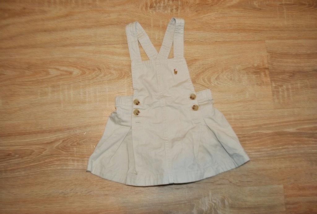 RALPH LAUREN śliczna sukienka LOGO 80 BDB