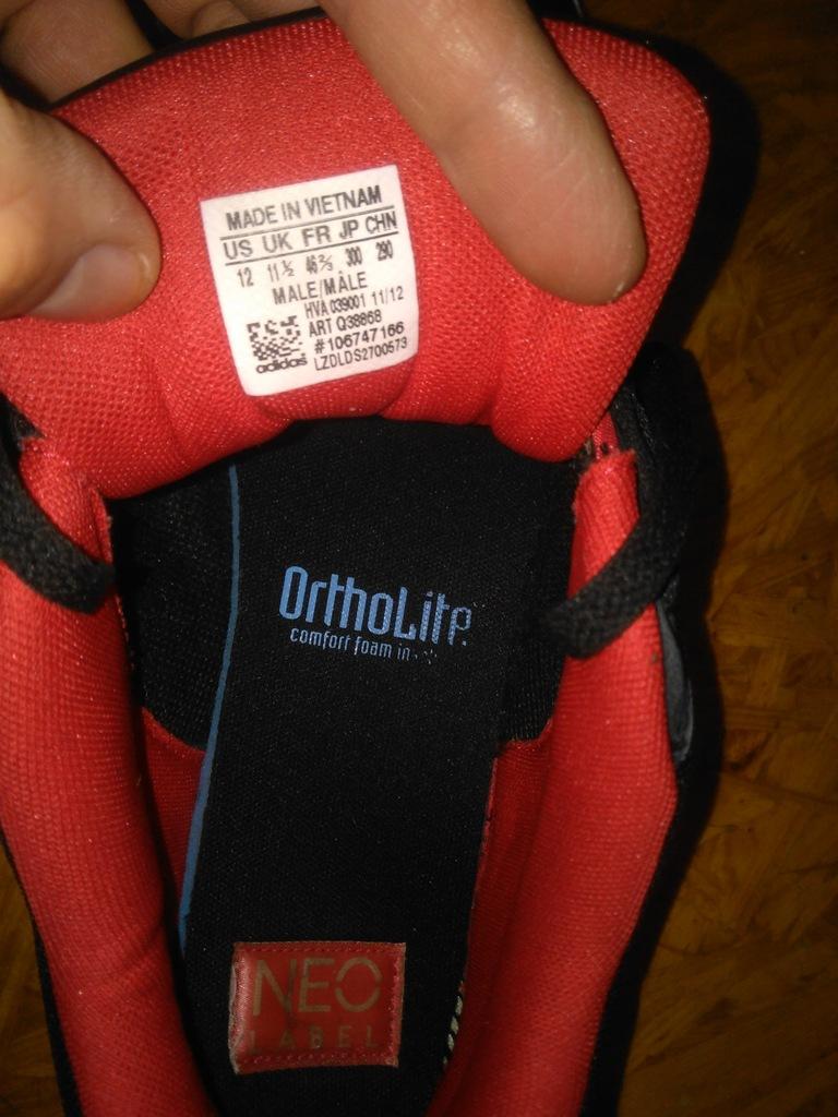 buty adidas neo 46 30cm lato skate classic
