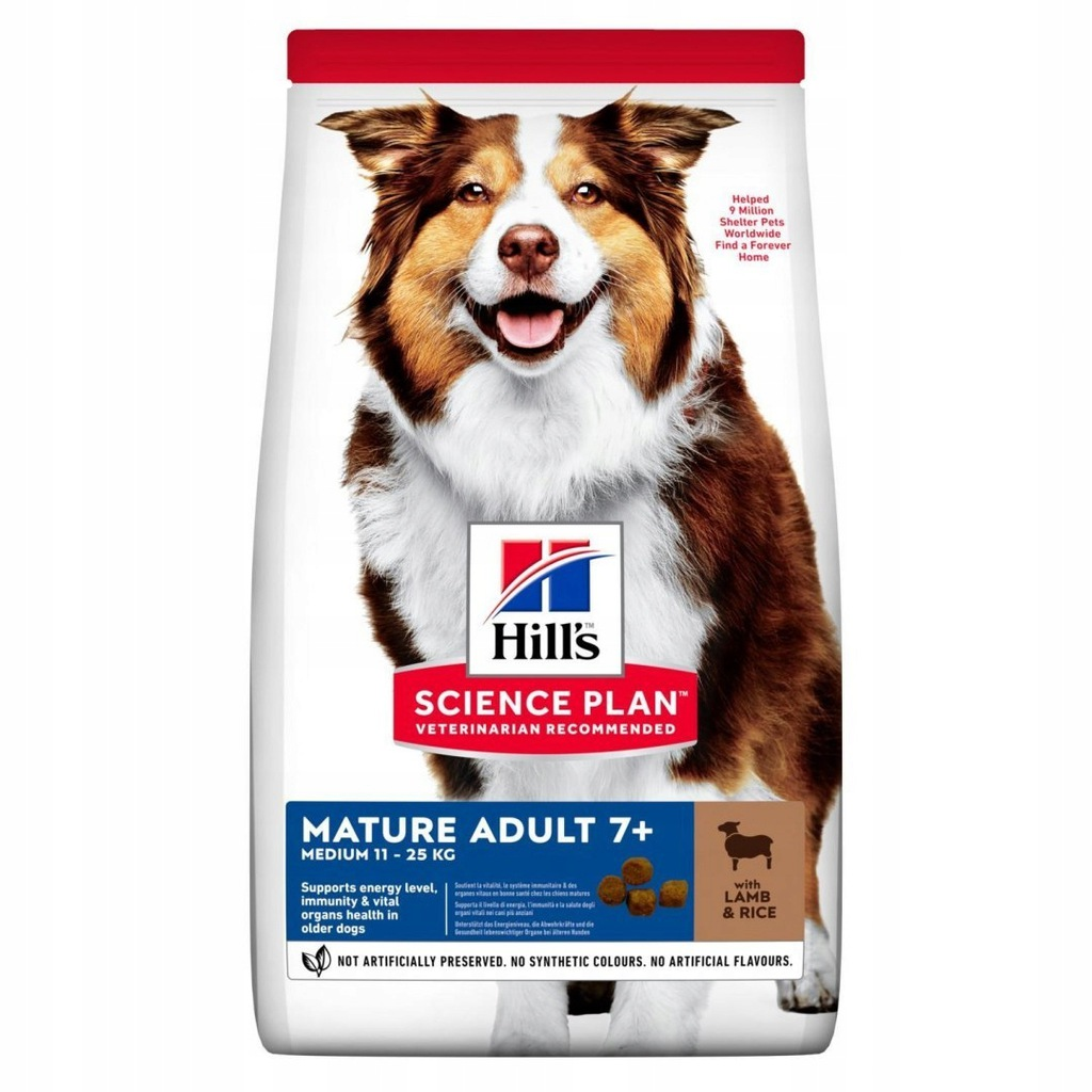 Hill's HILL'S Canine Mature Adult 7+ Lamb & Ri