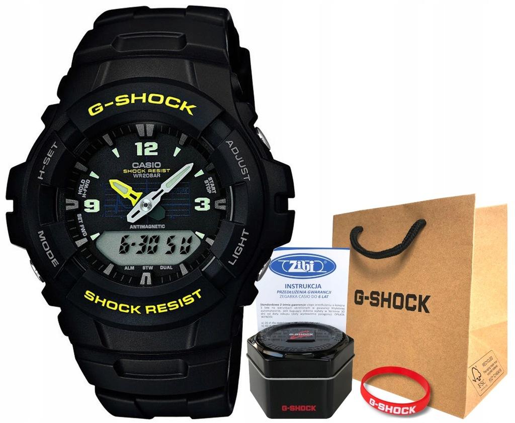 Zegarek dla chłopca Casio G-SHOCK G-100-9CMER