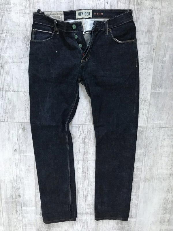 SUPERDRY__OFFICER męskie jeans SLIM Spodnie W34L34