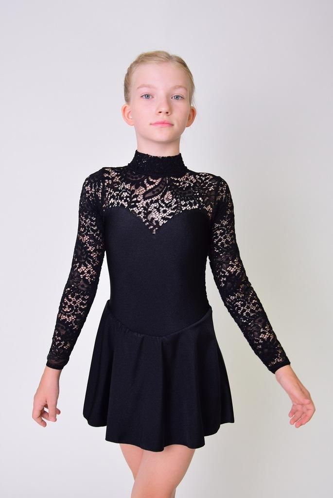 Sukienka taneczna - rozmiar 122/128 cm
