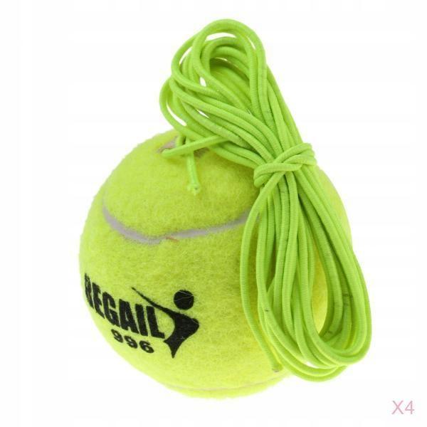 4 sztuk z trener tenisa kulki