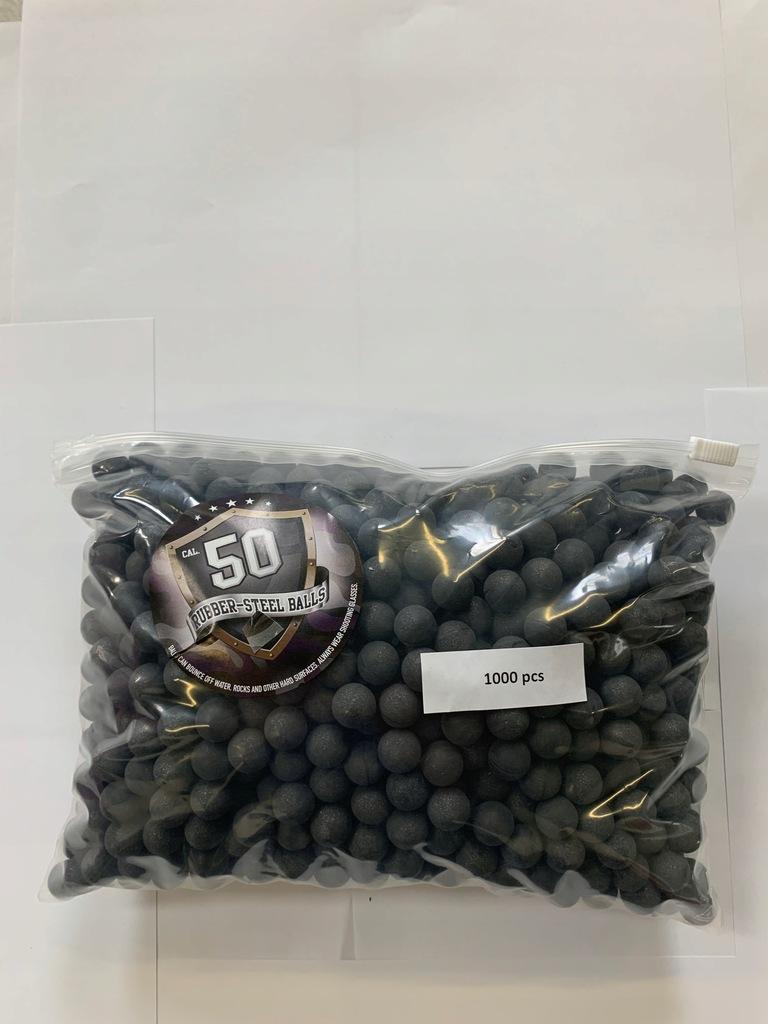 Kule gumowo-metalowe Rubber-steel balls .50 cal