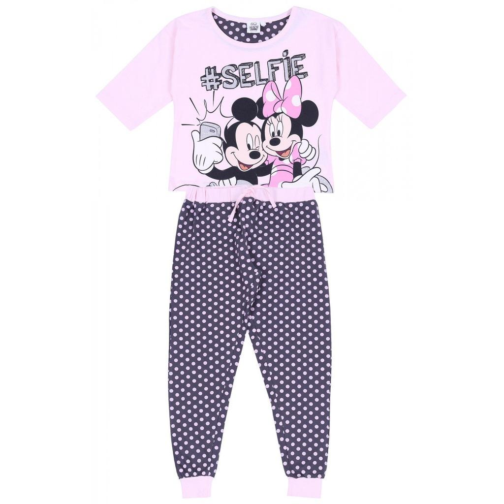 Różowa piżama Myszka Mickey DISNEY 8 9 lat 134 cm