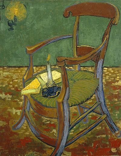 Reprodukcja Gauguin's Chair - Gogh 70x50