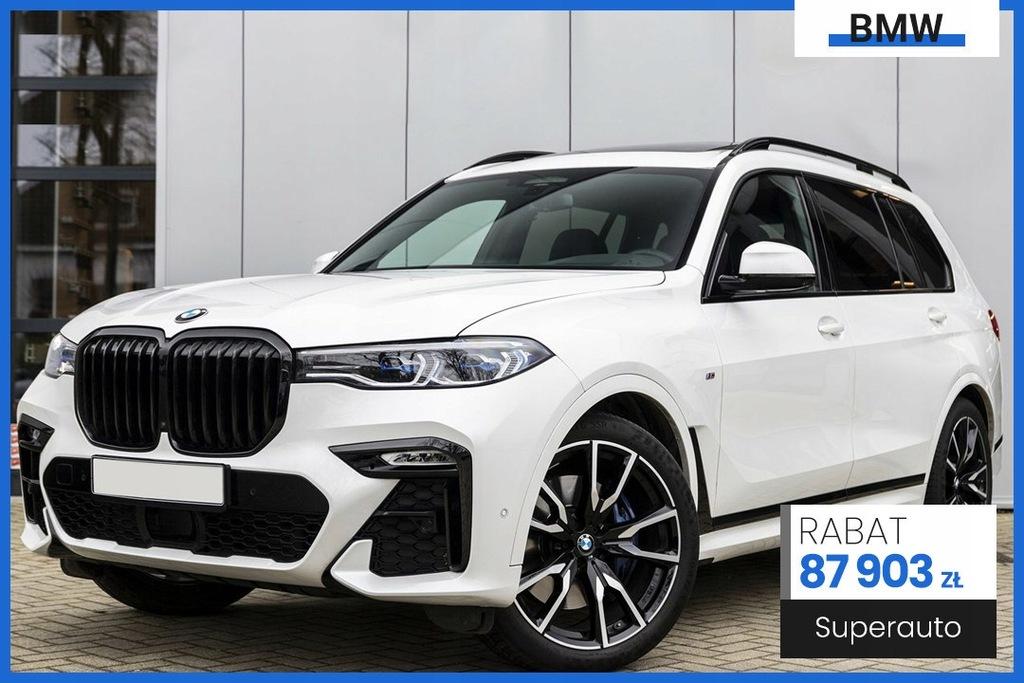 BMW X7 xDrive30d (265KM) MSport | Zostań w domu. w
