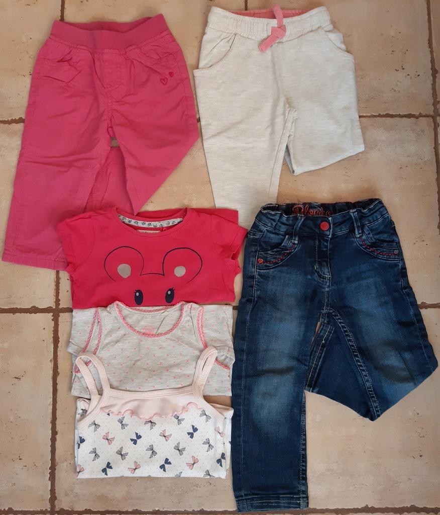 Ubrania dla dziewczynki WIOSENNE ŚLICZNE!