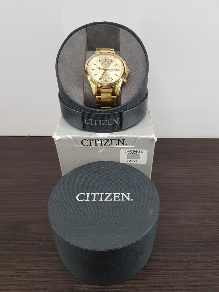 Citizen Chronograph Gold Tone Watch 0510-S086051