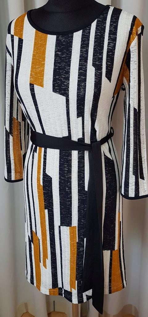 Sukienka koszulowa QUIZ 40 L oversize NOWA