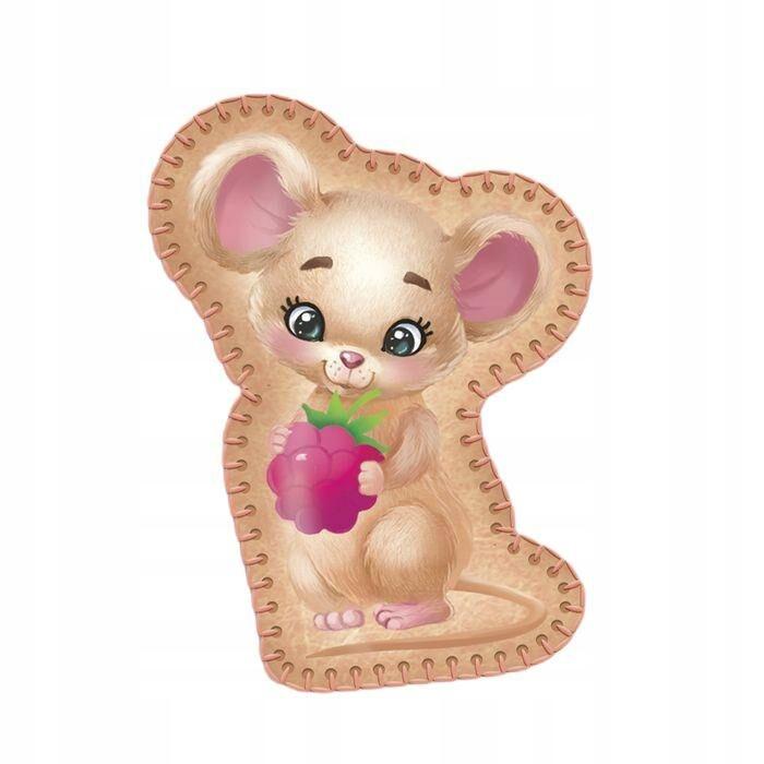 """Zabawka z filcu """"myszy jagód"""" naprasowywanki i"""