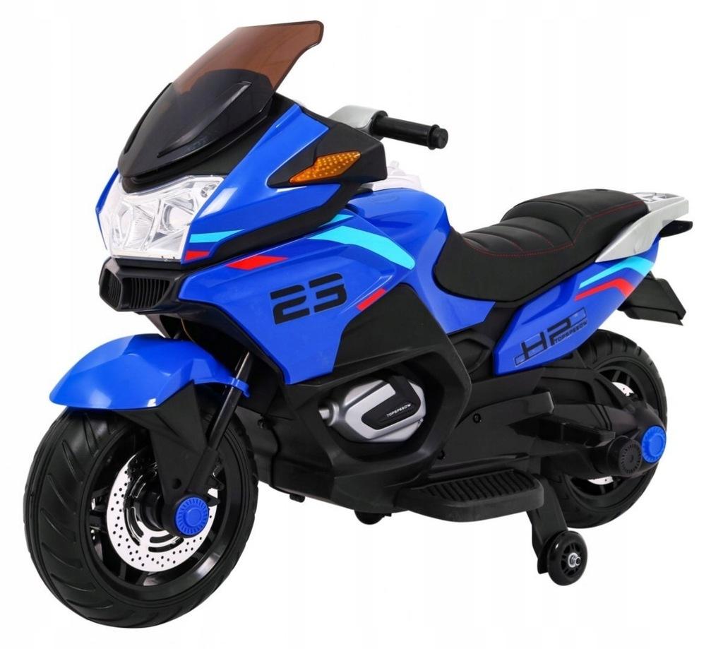 Pojazd Motor Sport Tourism Niebieski
