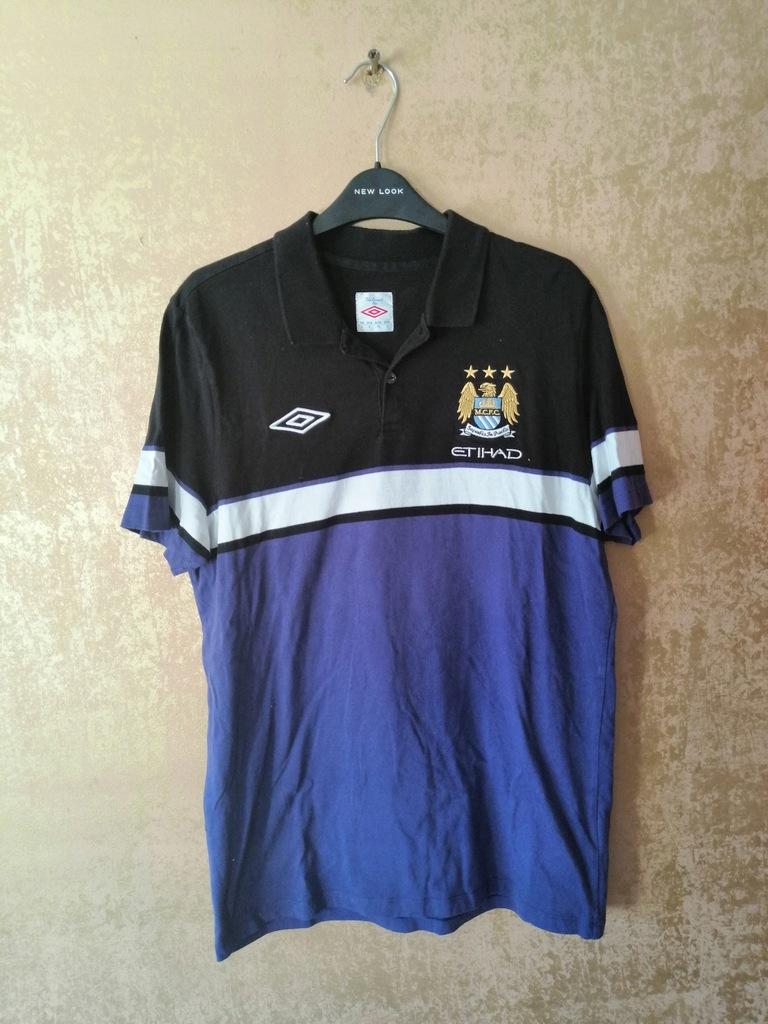 Koszulka Piłkarska Polo Manchester City Umbro M