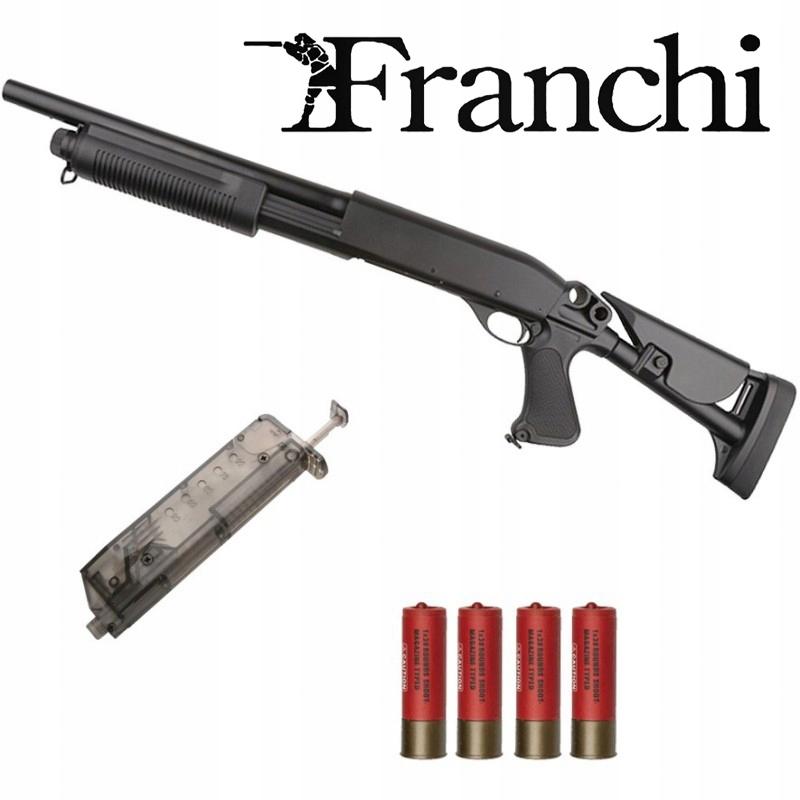 STRZELBA Franchi SAS-12 REPLICA TACTICAL/ASG 6mm.