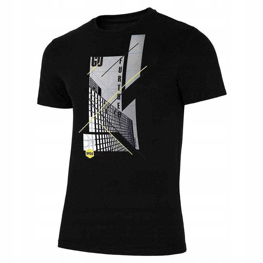 T-Shirt 4F H4L19-TSM022 2 0S czarny M