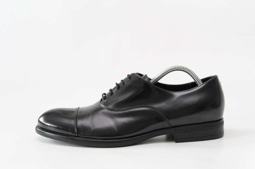 ARMANI COLLEZIONI - skórzane buty PREMIUM 42