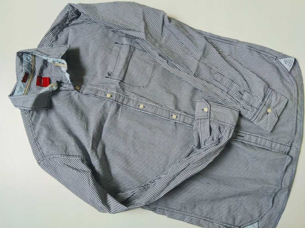 S.oliver koszula w paski slim L