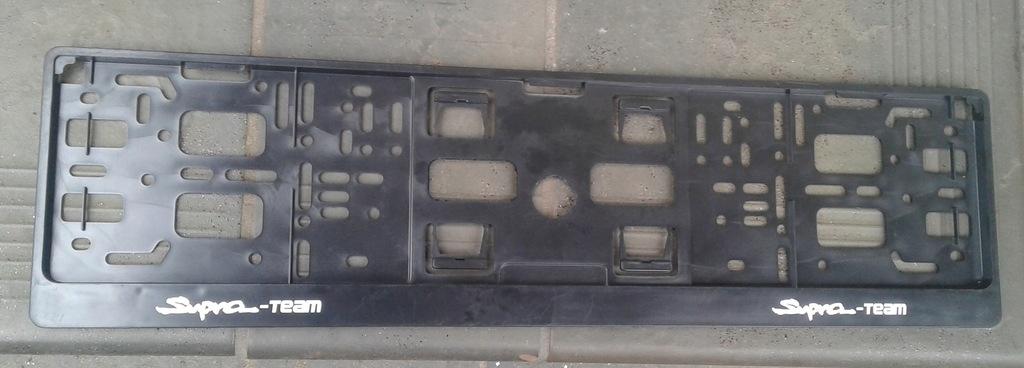 Toyota Supra ramki pod tablice