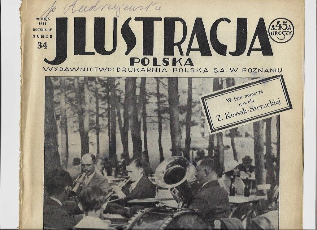 1931 34 Smogulec Kalisz Zaniemyśl Poznań Toruń PCK