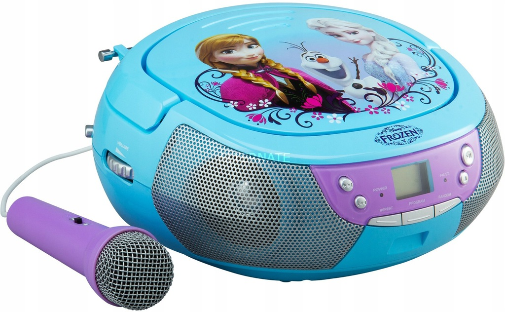 Disney Mrożone cd Boombox niebieski