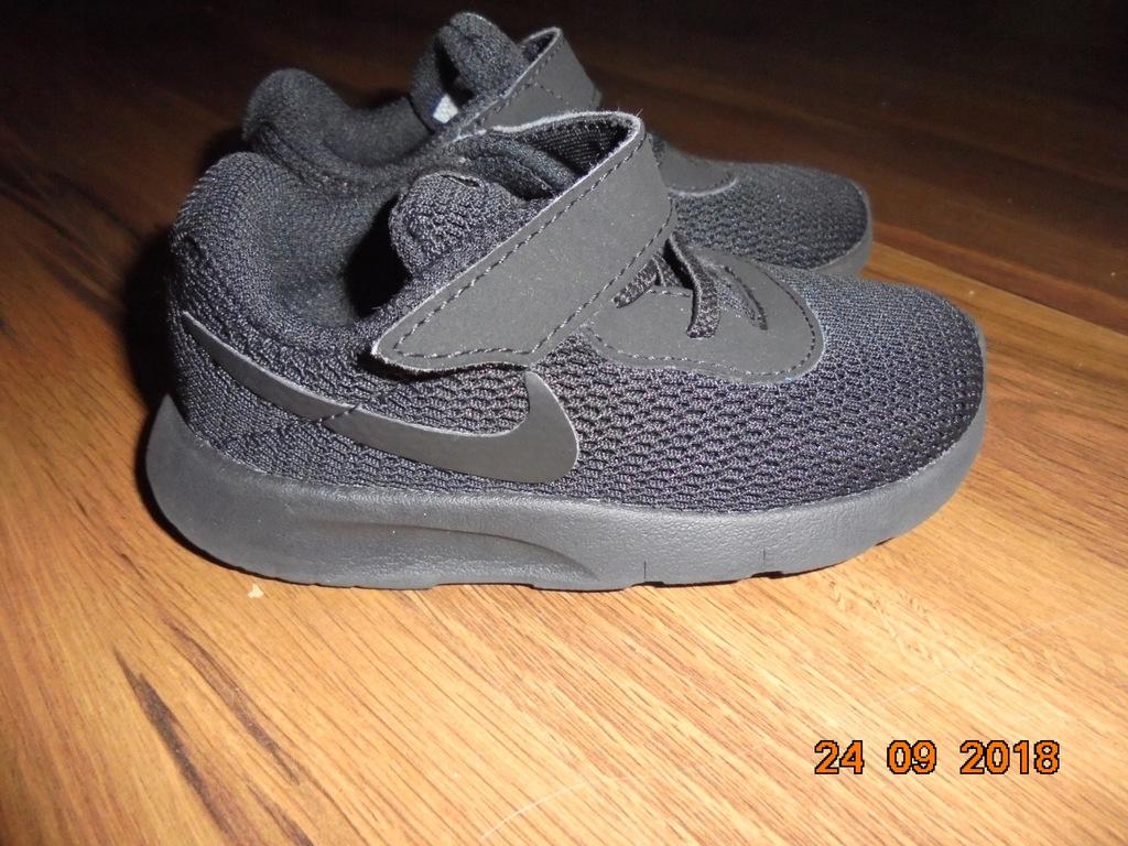 Czarne buciki Nike r.23.5 jak NOWE!!!