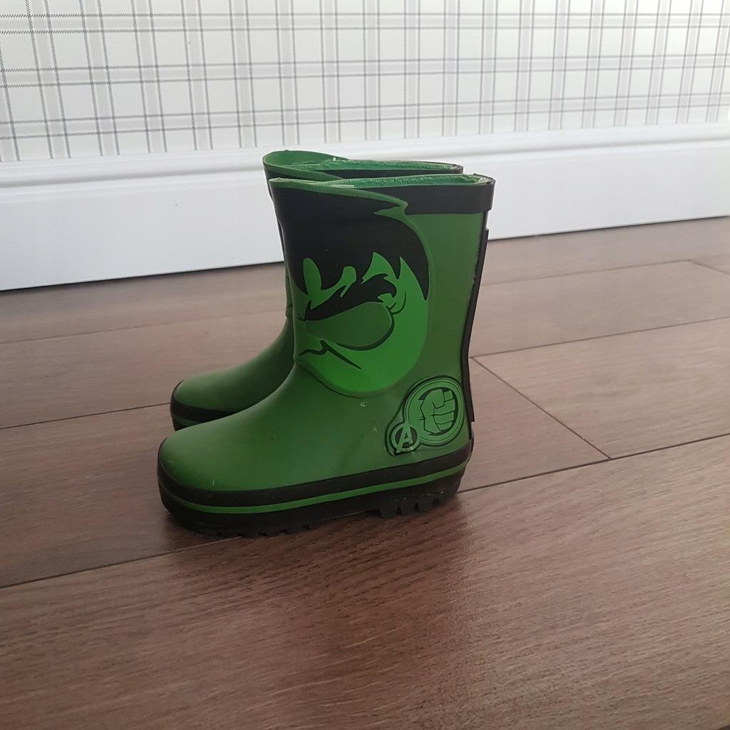 zielone KALOSZE NEXT AVENGERS Hulk 20 21