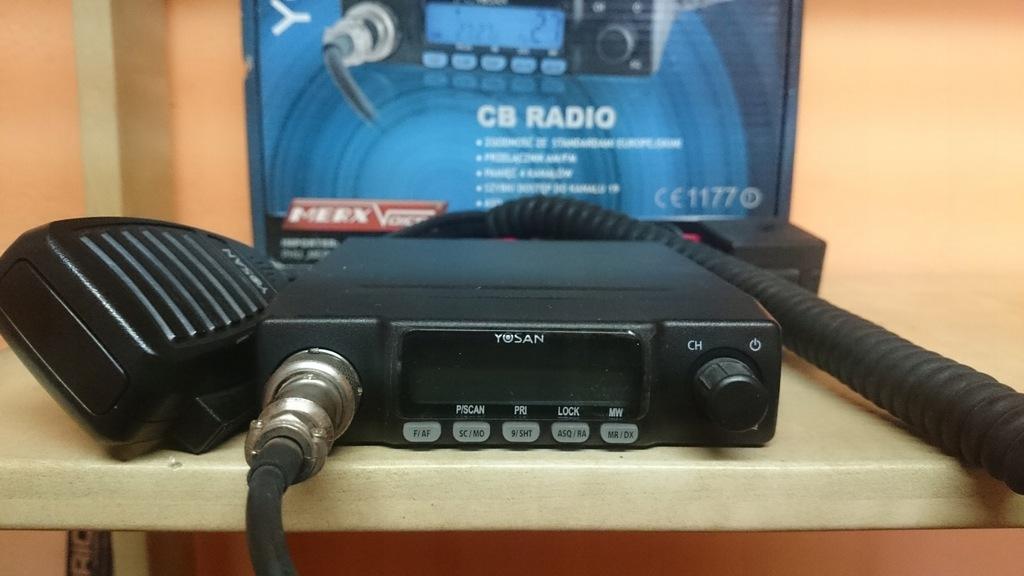 CB-RADIO MINI YOSAN CB300 AM/FM 0/5 ASQ NAJTANIEJ!