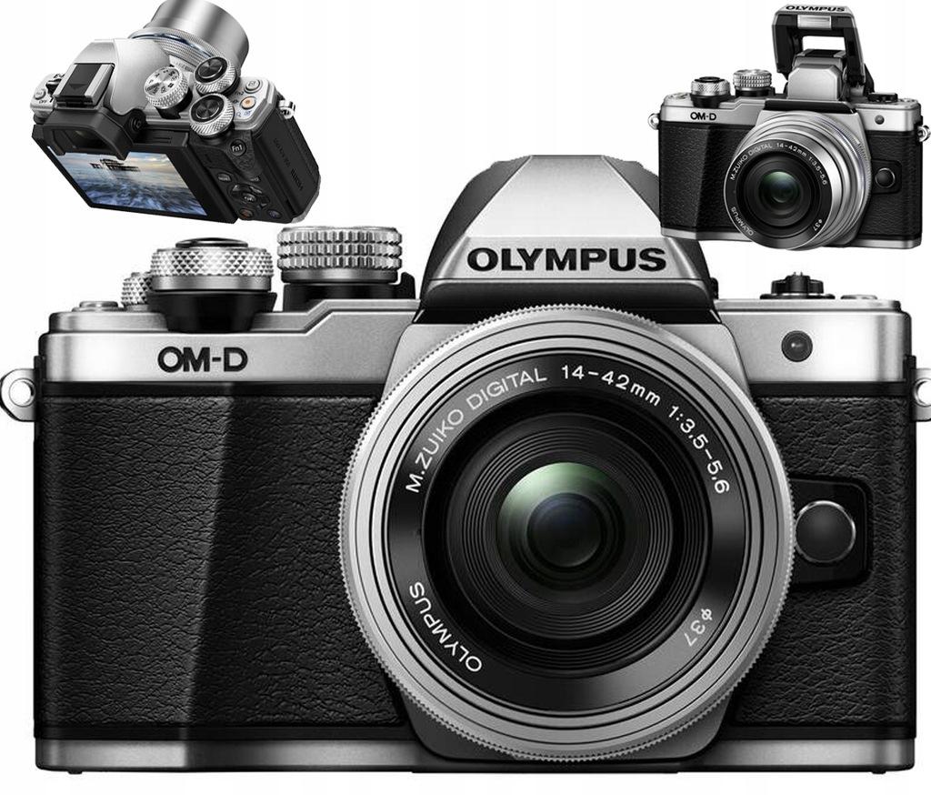 Aparat Olympus E-M10 Mark II + 14-42 Obiektyw