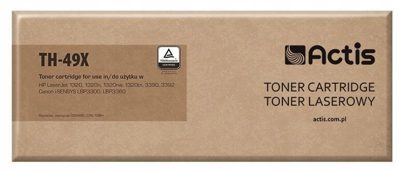 Toner ACTIS TH-49X (zamiennik HP 49X Q5949X, Canon