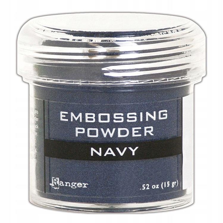 Metaliczny puder do embossingu - Navy - Ranger