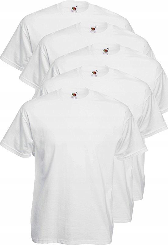 Fruit Of The Loom Koszulka T-shirt Męski 6szt. XXL