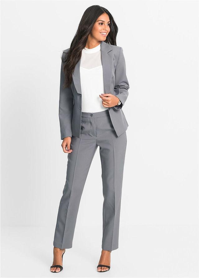 Spodnium damskie w kolorze szarym 40