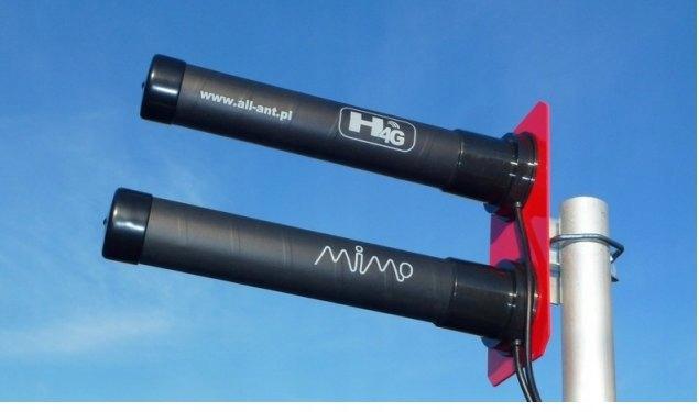Antena LTE H4G MIMO 2x15 dBi 1,8-2,1GHz 2x20m SMA